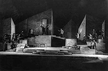 Final scene of William Shakespeare's Macbeth, 1941.