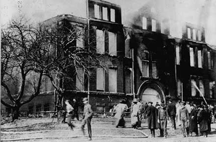 Collinwood School Fire, 1908
