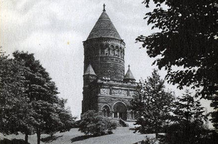 The Garfield Memorial in Lake View Cemetery, Cleveland OH