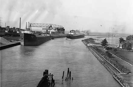 Lorain, Ohio Harbor, 1936