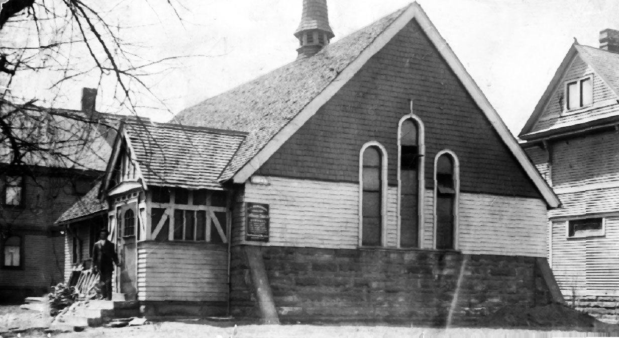Original Cleveland Play House building, 1916.