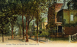 View on Euclid Ave. Cleveland, O., 1878