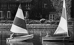 Sailing on the Shaker Lakes, 1964