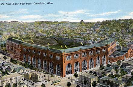 League Park postcard.