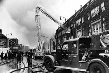 Fires at E. 103rd & Superior Ave. , 1968