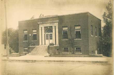 Original Madison Public Library Building