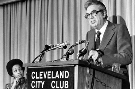 Ralph J. Perk at the City Club of Cleveland