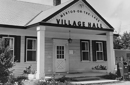 Mentor-on-the-Lake Village Hall building, 1965