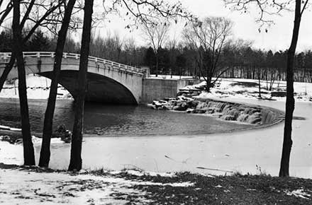 Bridge in Rocky River Reservation.