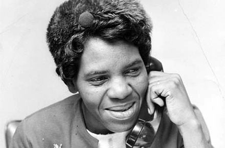 Fannie Lewis (1926-2008) Cleveland City Council member, Ward 7.