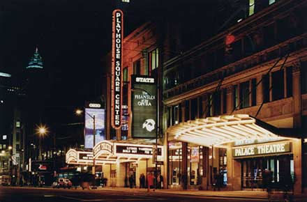 Playhouse Square on February 23rd, 1997